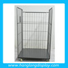 warehouse fold cart cage steel