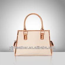 J279-2014 patent leather handbag,wholesale silver tote bags