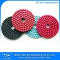 peças para moedor bosch flexível 100 mm pedra de diamante almofadas de polimento