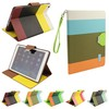 New! Hybrid PU Leather Wallet Flip Stand Case FOR APPLE iPAD AIR 5