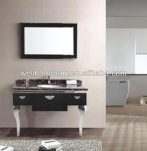 Stainless steel bathroom vanity furniture 8879