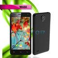 çin telefon W450 4.5 inç 3g mtk6582 dört çekirdekli 1.3 ghz android4.2