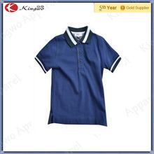 Personnalisé plaine sec Fit Polo Shirt pour garçons / enfants coton piqué Polo chemises gros