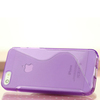 Fantastic S Shape TPU Translucent Mobile Phone Cover for iPhone 5, S line TPU Case For iPhone 5