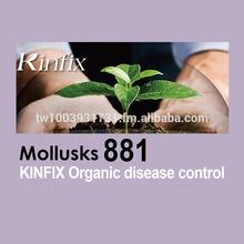 KINFIX Mollusks 881 - organic nature pesticide