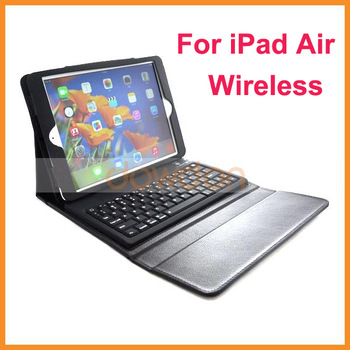 High Quality Portfolio Case with Keyboard for iPad Air Shenzhen Factory