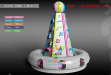 Lefunland Revolving Climbing indoor kids play gym equipment