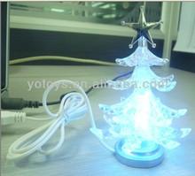 Mini led light xmas tree,chrismas decoration,usb led light xmas tree