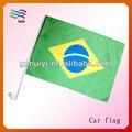 polyester course 2014 brésil coupe du monde drapeau de voiture accessoires