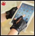 mens fingerless leather gloves leather driver gloves