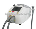 RF wrinkle removal and skin tightening machine with cooling system