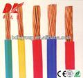 basse tension pvc fil électrique isolé code couleur
