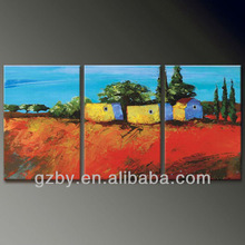 2014 simple abstract art 3pc oil painting on canvas,oil painting set for sale