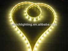High quality IP68 SMD3528 DC12/24V orange led strip light/long lifespan led strip light/led strip flexible pcb