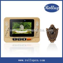remote contro door alarm, auto video door phone, prevent peeping viewer