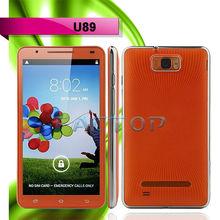 U89 MTK6589 Quad-Core Android 4.2.1 WCDMA 6inch Wholesalers Hot Sale Phone