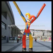 inflatable clown air dancer man skydancer for promotion
