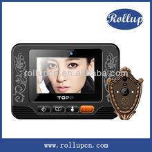 mobile phone door alarm, auto shooting video intercom, android smart door viewer