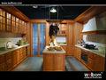 الصلبة الخشب مطبخ مجلس الوزراء، خشب البلوط خزانة المطبخ