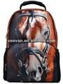 Cavallo zaino con design a cavallo, cavallo scuola zaino per gli adolescenti