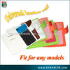 wallet style universal leather cases for mobile phone