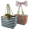 Free shipping! Fashion Anchor sailing pet carrier, dog hangbag, dog carrier, 2 colours available