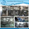 Automático de água de rosas processo de engarrafamento/máquinas