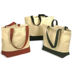 Fashion Fancy Organic Canvas Tote Bag Unique Design Good Quality SB317