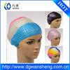 Bubble silicone swim hats silicone bubble swim cap