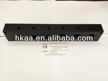 Custom Machined Precision Aluminum Junction Block