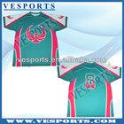 Eco-friendly Heat Transfer Printing Polo t Shirts