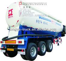 Bulk cement tanker truck
