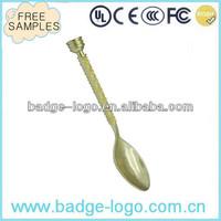 Novelty Ornamental Metal Spoon