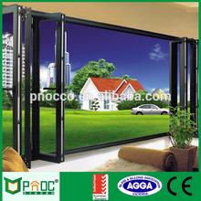 Aluminum Alloy Cheap Non-thermal Break Folding Door PNOC229BFD