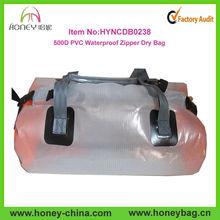 Hot and Fashion Transparent 500D PVC Custom Dry Duffle bags Wholesale Travel Dry Bag Fishing Bag