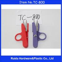 12cm Golden Eagle 420J2+Environmental ABS handle thread scissors TC-800