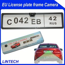 2014 Europe Cars Number plate car camera renault megane 3