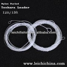 Hand-made fly tenkara furled nylon leader fishing line