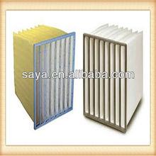 FB asphalt plant bag filter with Aluminum frame Synthetic fiber