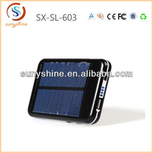 Mutifunction emergency solar charger,htc portable power pack 5000mah