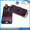 wholesale red color conversion kit for iphone 5 lcd digitizer+backcovers+homebuttons