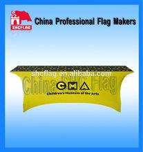 Trade show Custom printed spandex table cover