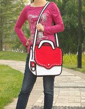 Cool School Comic Messenger Bags for Teenagers