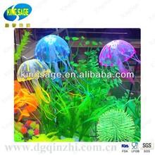 aquarium fish food, decoration aquarium, silicone jellyfish