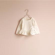 *Hot Sale*White basic t-shirt bulk wholesale kids clothing 4 colors HZ Luomai #180060