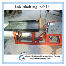 good quality gold mining lab shaking table testing machine
