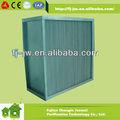 2014 oem caliente de la venta de la mejor calidad h13 h14 de flujo de los pliegues de aluminio filtro separador de aire