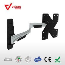 Slim Full Motion flat panel mount aluminum lcd TV arm wall bracket VM-LT23D B-02