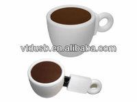 Tea Coffee Cup USB Warmer Heater flash drives USB 2.0 Flash Memory Pen Drive Sticks Thumb Drives Disks Discs