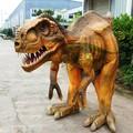 andar de publicidade t rex traje de dinossauro